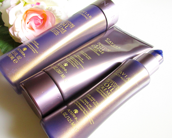 Review: Alterna - Caviar Moisture Intense Oil Haarpflege Serie