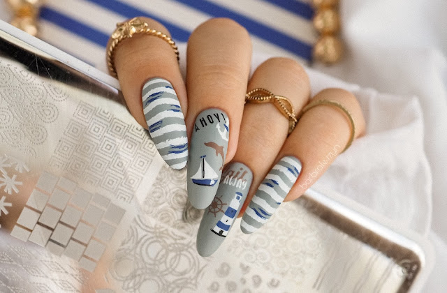 Sail Away nails