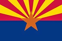 Arizona Eyaleti Bayrak