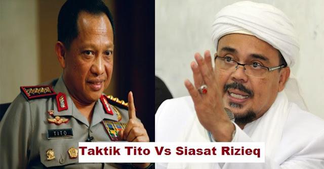 Taktik Tito: Tidak Perlu Tangkap Rizieq di Arab, Rupanya Ini Alasanya!!