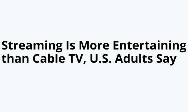Americans prefer online streaming to cable network