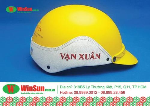 Cơ sở sản xuất nón bảo hiểm uy tín số lượng lớn