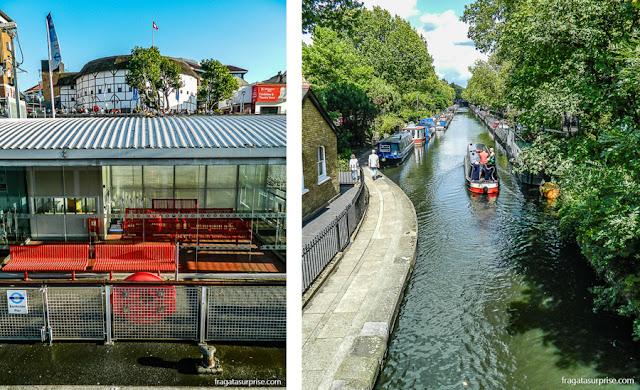 Transporte aquático em Londres
