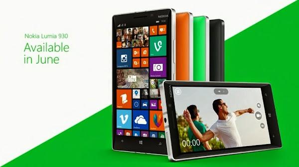 Nokia Lumia 930 coming in June