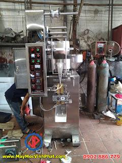Máy đóng gói hạt điều, máy đóng gói đậu phộng da cá định lượng dạng cốc