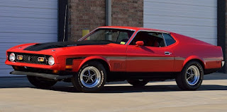 1971 Ford Mustang Mach 1 Drag Pack Front Left