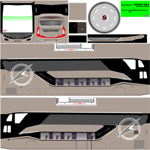 Livery Bussid Double Deck Laksana