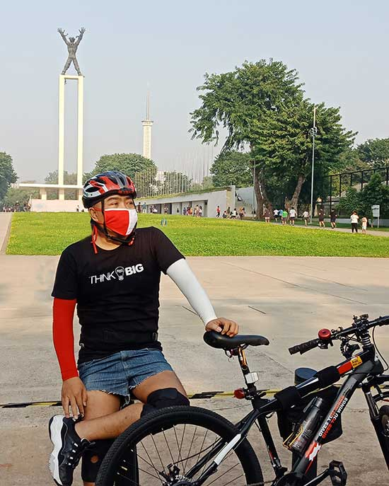 Bersepeda gowes PRURide Indonesia 2020 Virtual Ride, Gowes Virtual