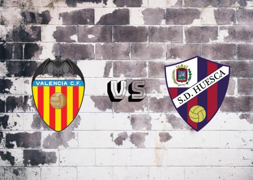 Valencia vs Huesca  Resumen