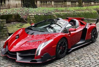 Mobil Mahal Lamborghini Veneno Roadster