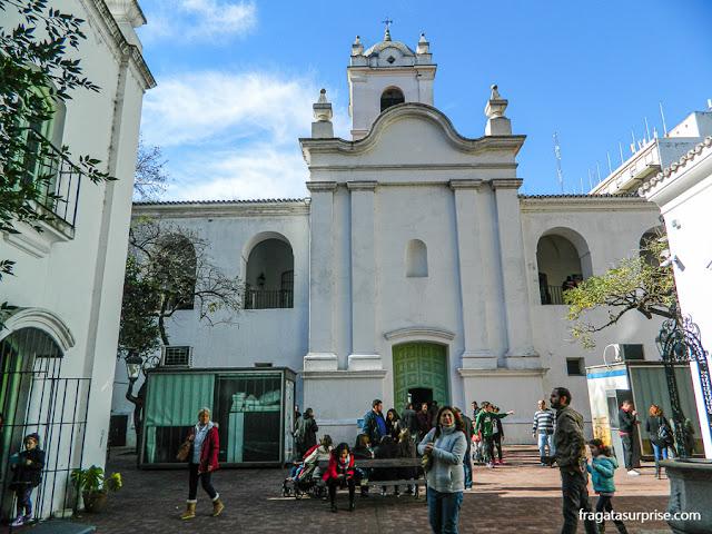 Pátio interno do Cabildo de Buenos Aires