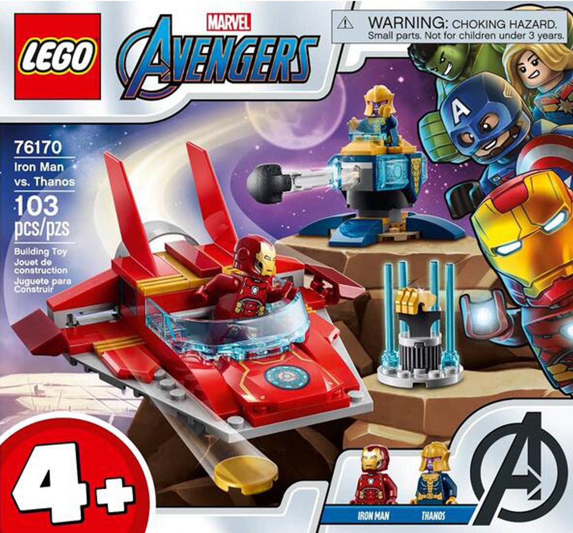 レゴ(LEGO) スーパー・ヒーローズ アイアンマン対サノス 76170