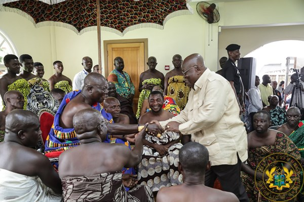 """""""Remain Focussed, Deliver On Your Mandate"""" – Otumfuo To President Akufo-Addo"""