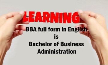BBA Full Form In English