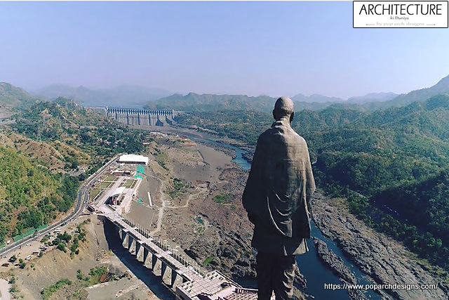 Statue of Unity Surrounding issues villagers