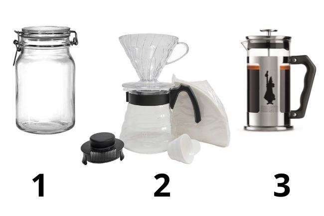 Equipamentos ideais para preparar o cold brew em casa