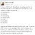 Former President Goodluck Jonathan's School Certificate results by Reno Omokri