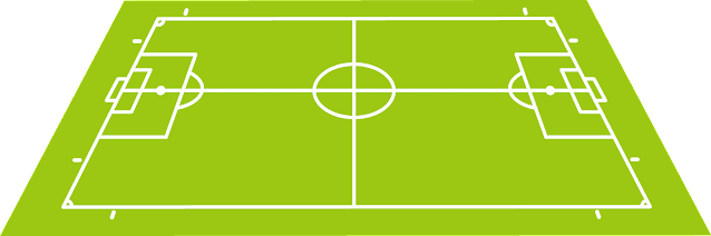 Propulsive Football (PROBALL) Pitch, Centre-line rule.