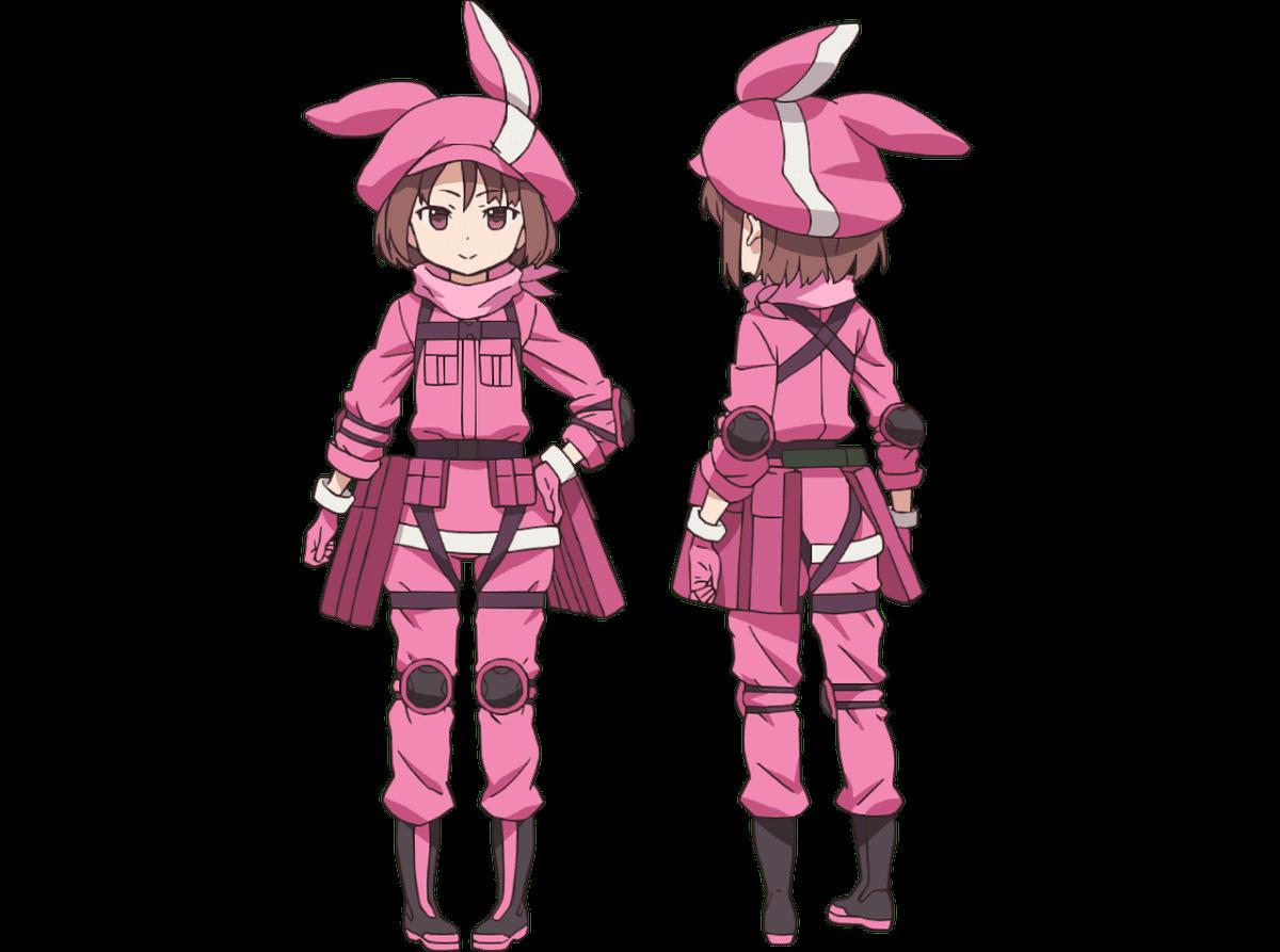 Promo y diseño de personajes para Sword Art Online Alternative: Gun Gale Online