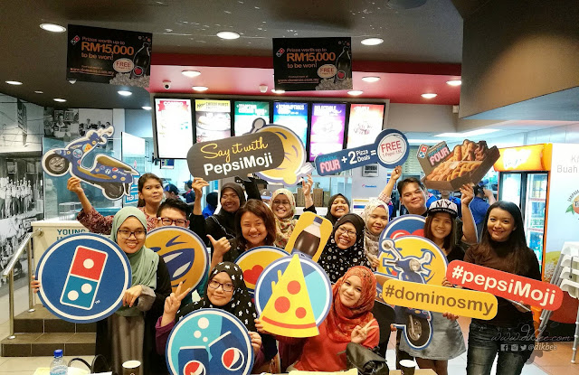 Menang Limited Edition Scooter Dengan Domino's The Perfect Deal