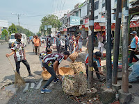 Peringati Hari Sumpah Pemuda, PAC IPK Medan Helvetia dan Seluruh Ranting Gelar Gotong Royong di Ransus IPK Seisekambing