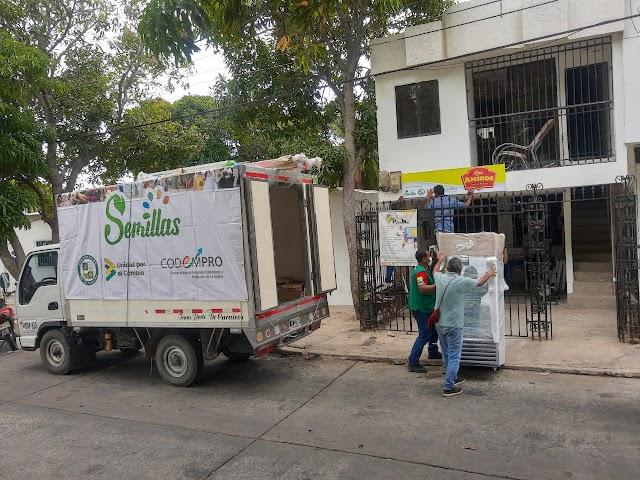 Avanza entrega de elementos para reactivación económica en La Guajira