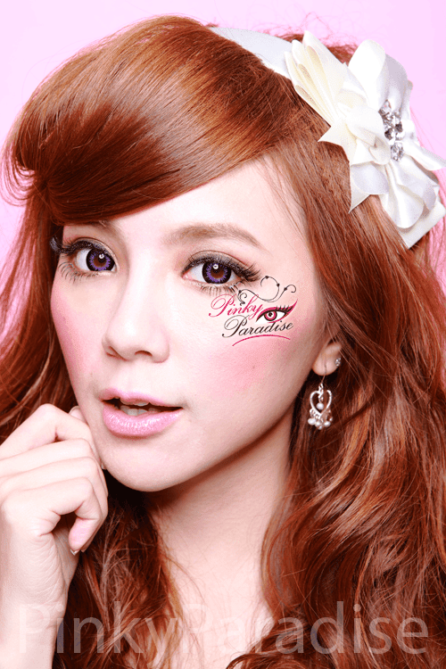 GEO Xtra WBS 201 Bella Violet Circle Lenses (Colored Contacts)