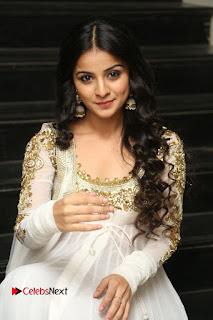 Telugu Actress Mahima Makwana Stills in White Desginer Dress at Venkatapuram Movie Logo Launch  0149.JPG
