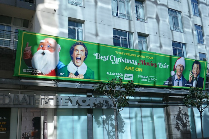 Best Christmas Movies Ever AMC 2020 billboard