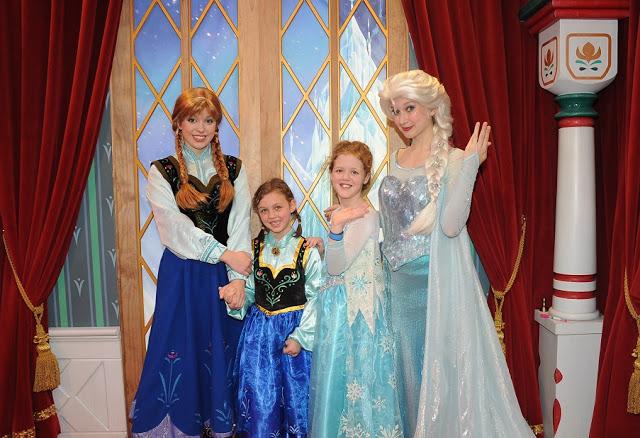 Encuentros con las princesas de Disney