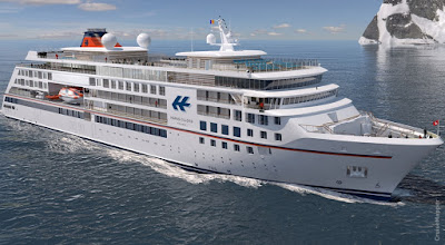 Hapag-Lloyd to name its newest luxury Expedition cruise ship - Hanseatic Inspiration in Hamburg in October 2019