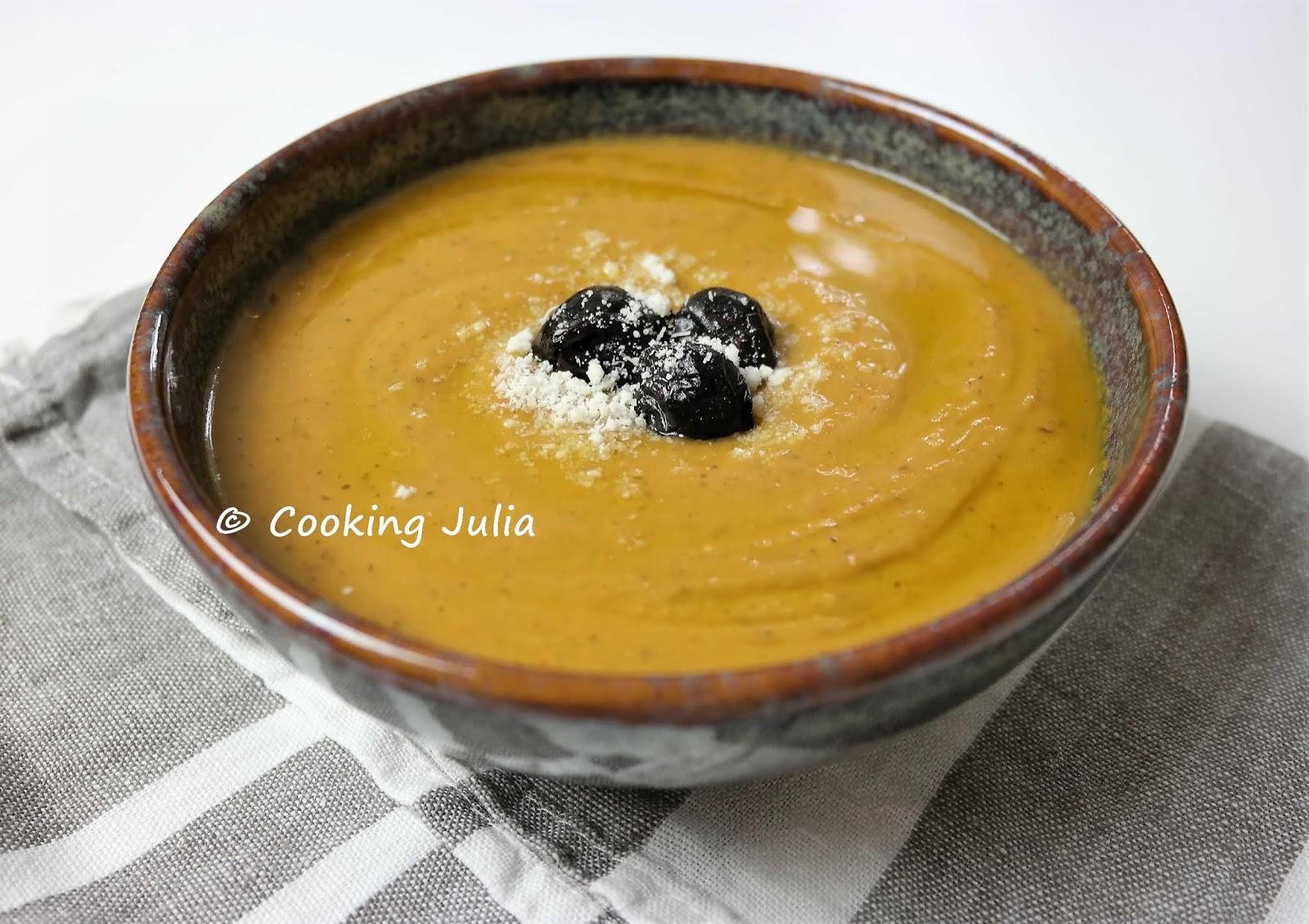 Cooking Julia Veloute De Legumes Du Soleil