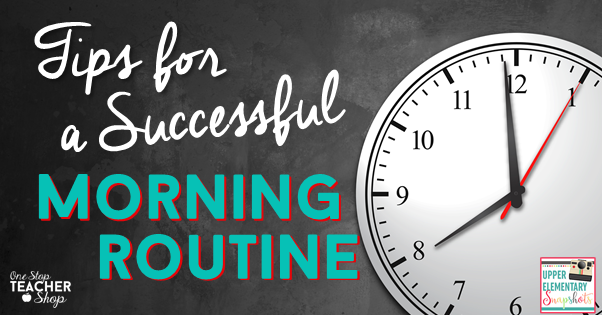 Tips for successful morning routines, morning work, classroom management, spiral review morning work. Free Morning Routine checklist planner
