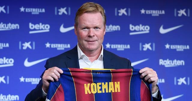 Bos Barca Koeman hanya ingin Messi 'jika dia mempertahankan level'