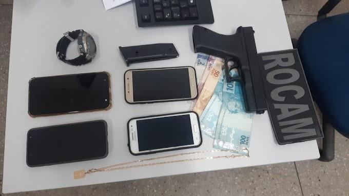 Homem é preso após série de assaltos na Zona Norte de Natal