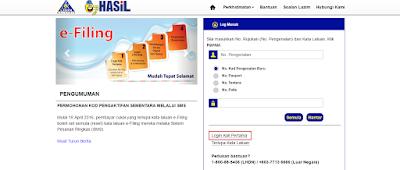 E-FILLING LHDN