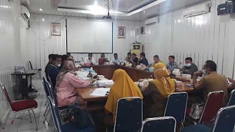DPRD Padang Hearing dengan DKK
