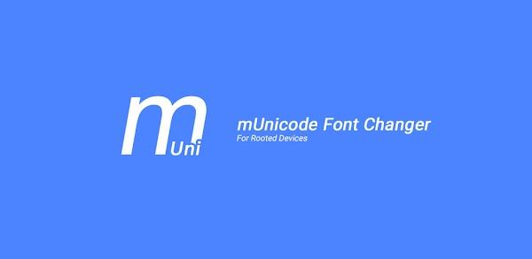 mUnicode Font Changer APK