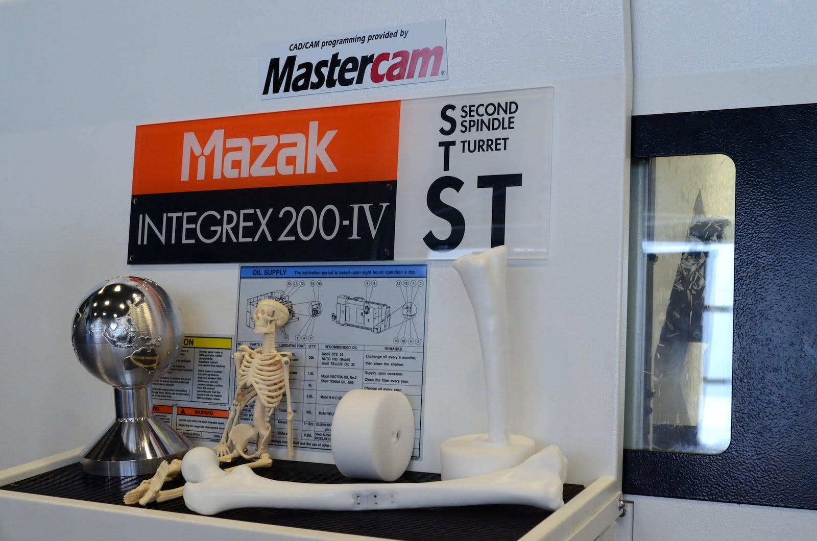 Mastercam post processor for Mazak