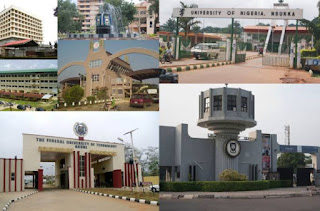 Universities that accept 180 and below in Jamb