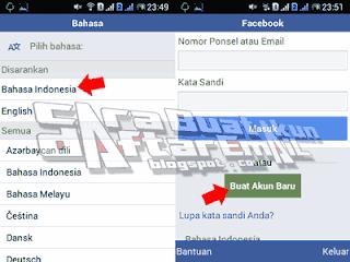 daftar akun baru facebook
