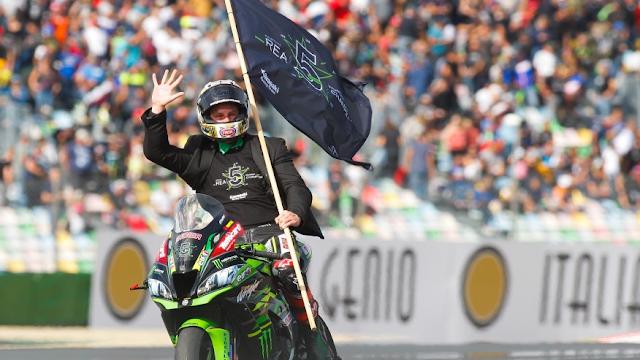 Jonathan Rea é pentacampeão do Mundial de Superbike