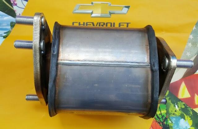 Bầu lọc khí xả xe (Bầu Catalytic Converter ) Chevrolet Captiva