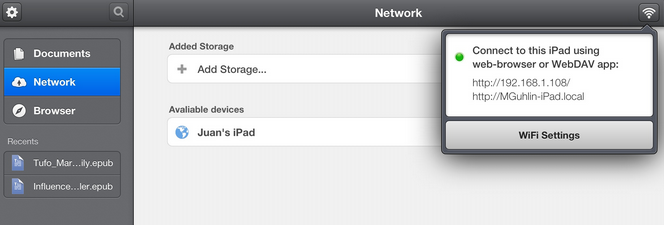 Collect Student Work Easily - Setup Your #iPad as a WebDav Server