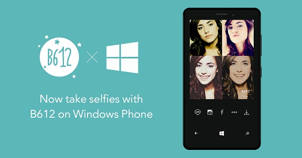 LINE's selfie camera app B612 comes to Windows Phone