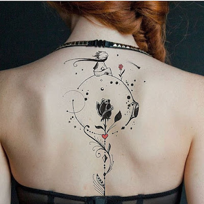 tatuagem-pequeno-principe-rosa
