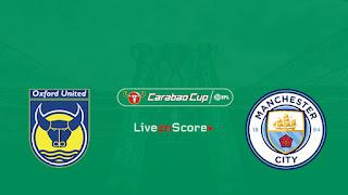 مشاهدة مباراة مانشستر سيتي واكسفورد يونايتد بث مباشر بتاريخ 25-09-2018 كأس رابطة المحترفين الإنجليزية