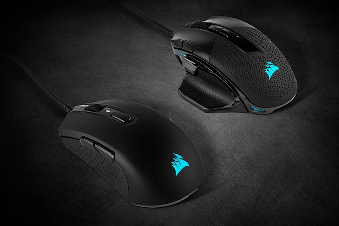 Corsair Unleashes Nightsword RGB and M55 Gaming RGB PRO Mice