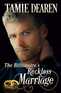 The Billionaire's Reckless Marriage - A sweet inspirational romance book promotion Tamie Dearen