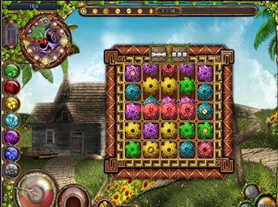 阿卡拉:寶藏(Akhra:The Treasures),顛覆傳統的消除遊戲玩法!